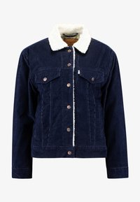 Levi's® - SHERPA TRUCKER - Giacca da mezza stagione - vintage navy blazer - 4