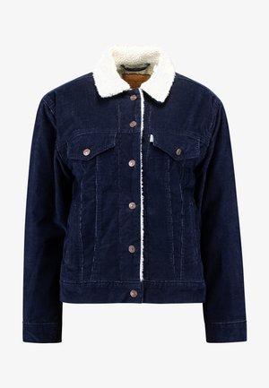 SHERPA TRUCKER - Allvädersjacka - vintage navy blazer