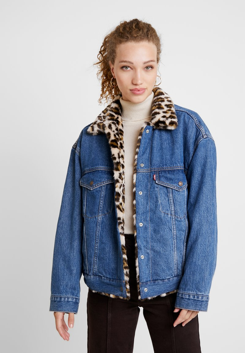 Levi's® - TRUCKER - Jeansjacke - cat eye