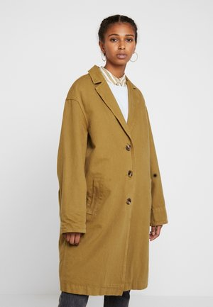 LUNA COAT - Jeansjacka - golden touch garment dye