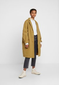 Levi's® - LUNA COAT - Jeansjakke - golden touch garment dye - 1