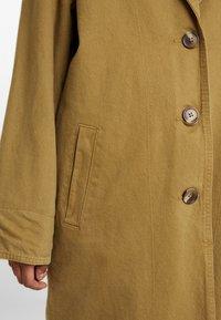 Levi's® - LUNA COAT - Farkkutakki - golden touch garment dye - 5