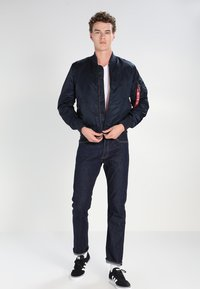 Levi's® - 501 ORIGINAL FIT - Džíny Straight Fit - blue - 1
