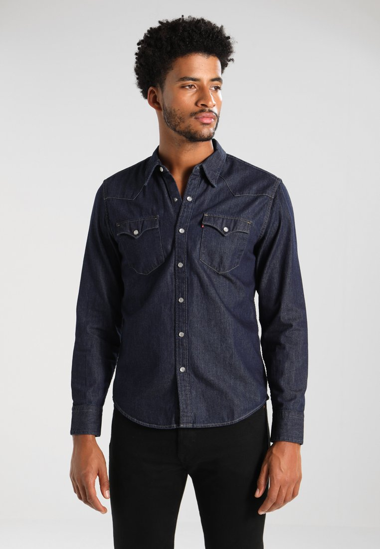 Levi's® - BARSTOW WESTERN - Shirt - red cast rinse