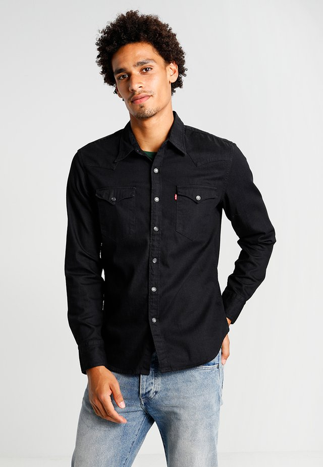 BARSTOW WESTERN - Overhemd - black