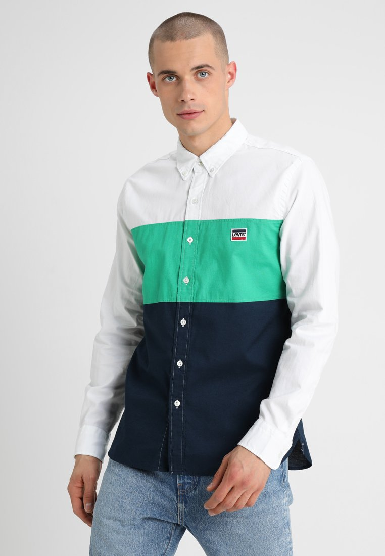 Levi's® - COLOR BLOCK PACIFIC - Hemd - jelly bean
