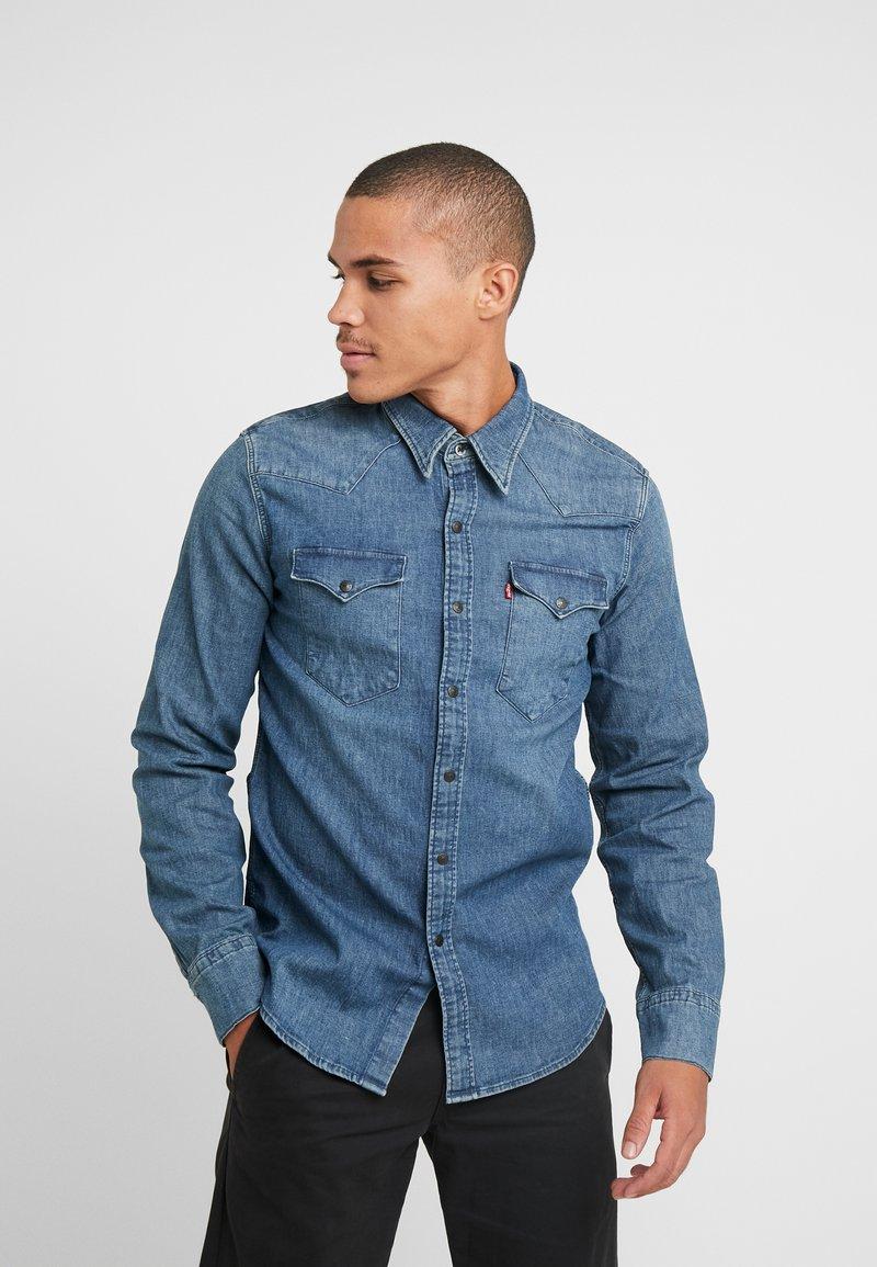 Levi's® - BARSTOW WESTERN - Shirt - bruised indigo mid