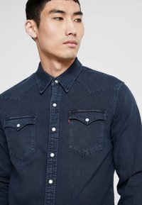 Levi's® - BARSTOW WESTERN - Shirt - bruised indigo dark - 3