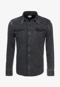 Levi's® - BARSTOW WESTERN - Overhemd - black worn - 3