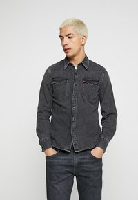 Levi's® - BARSTOW WESTERN - Overhemd - black worn - 0