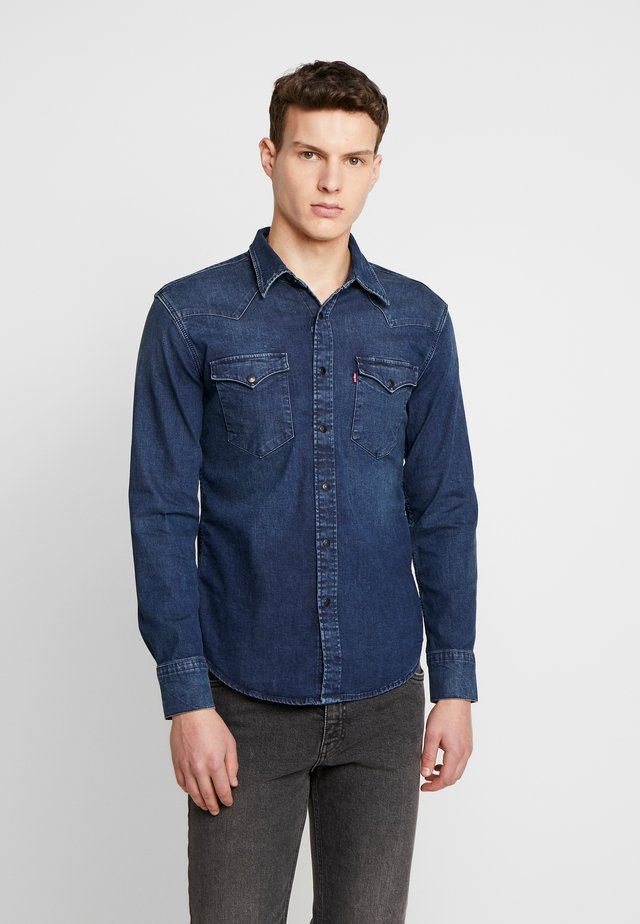 BARSTOW WESTERN SLIM - Shirt - dark worn
