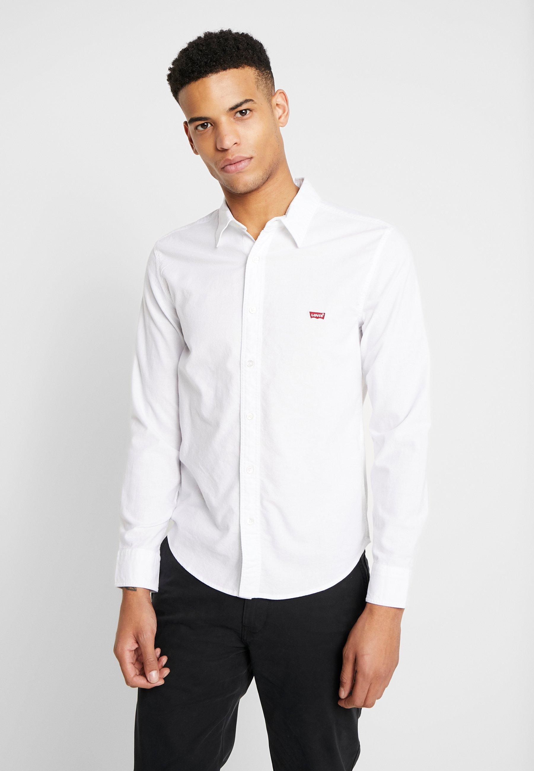 Levi's® BATTERY SHIRT SLIM - Koszula - white