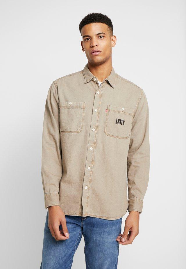 NEW CAMP OVERSHIRT - Overhemd - washed true