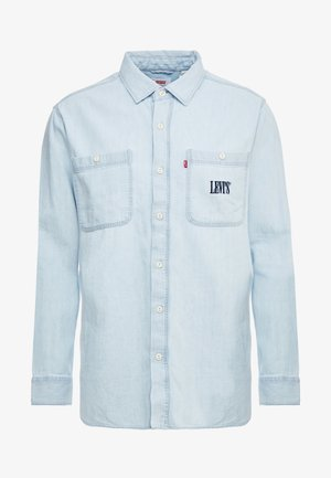 NEW CAMP OVERSHIRT - Shirt - sun bleached indigo