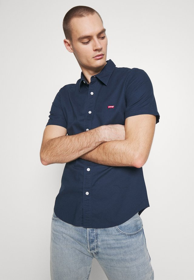 BATTERY SLIM - Camisa - dress blues