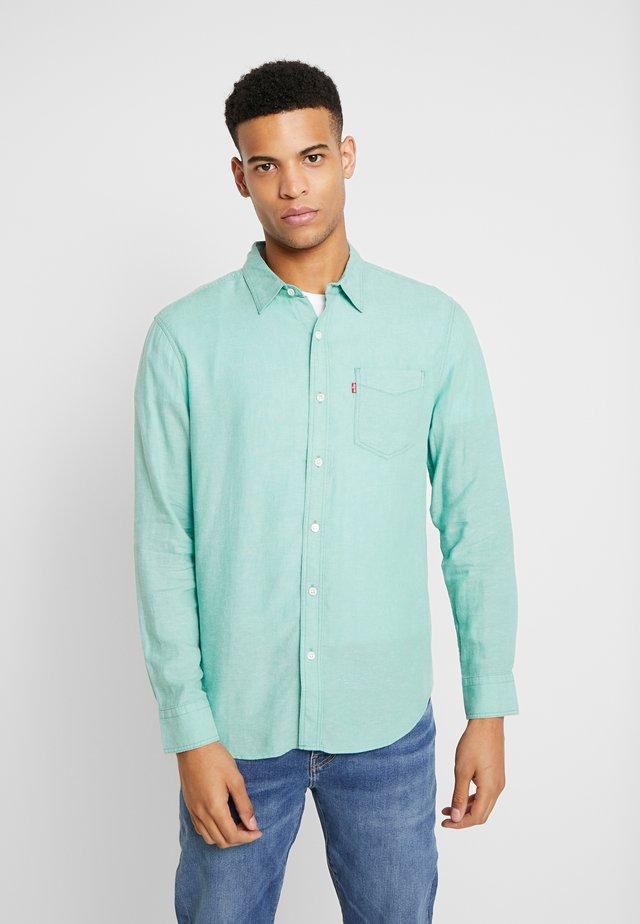 SUNSET POCKET STANDARD - Overhemd - creme de menthe