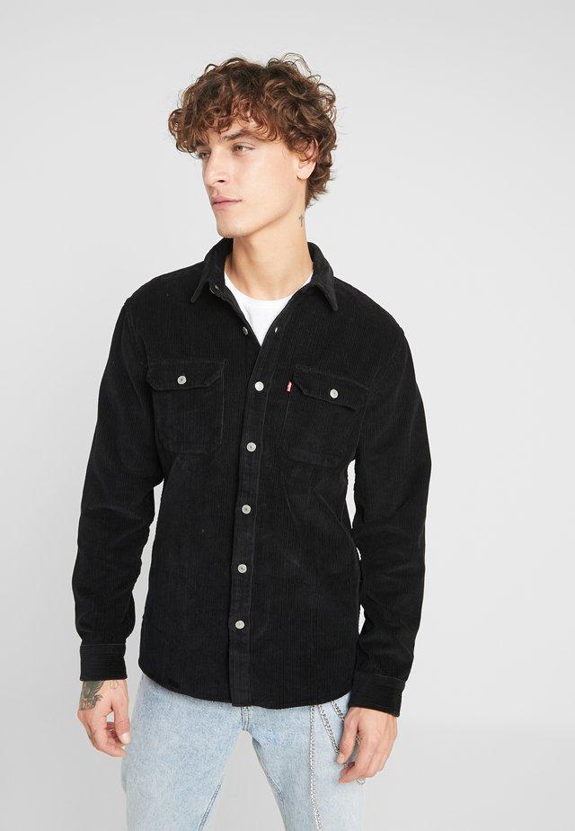 JACKSON WORKER - Overhemd - mineral black