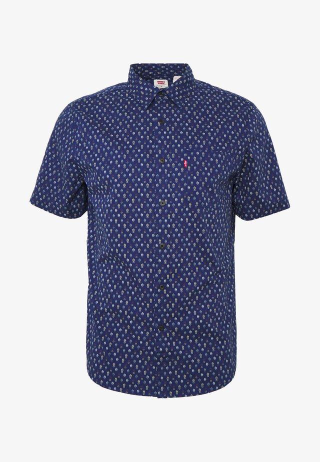 Overhemd - sphalerite blue