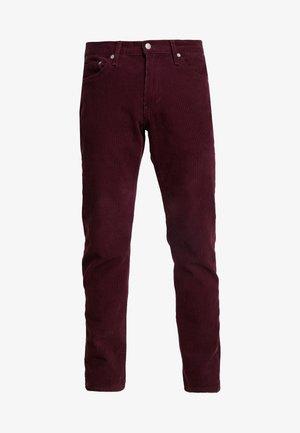 511™ SLIM FIT - Spodnie materiałowe - winetasting warp
