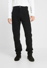 Levi's® - 502™ CARPENTER PANT - Tygbyxor - mineral black - 0