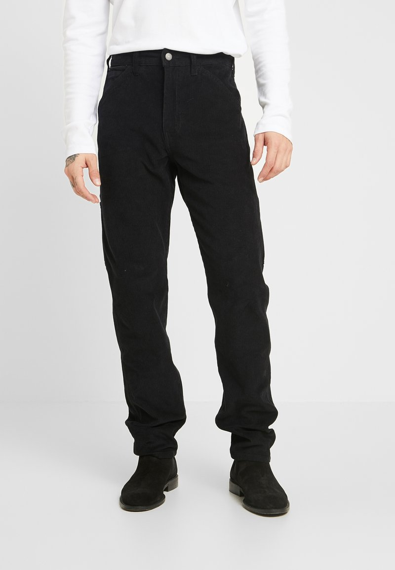 Levi's® - 502™ CARPENTER PANT - Tygbyxor - mineral black