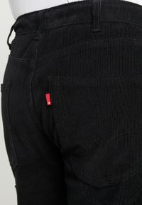 Levi's® - 502™ CARPENTER PANT - Trousers - mineral black - 3