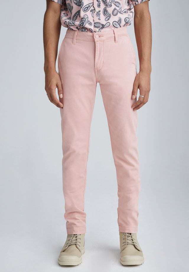 XX CHINO SLIM II - Pantalones chinos - rose tan shady