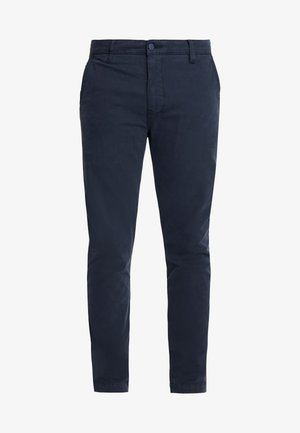 XX CHINO SLIM II - Pantalones chinos - baltic navy shady