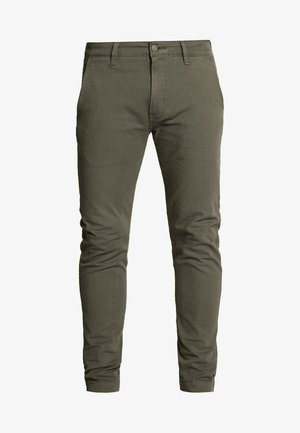 XX CHINO SLIM II - Pantalones chinos - bunker olive shady