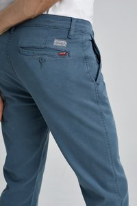 Levi's® - XX CHINO SLIM II - Chinosy - dark slate shady - 4