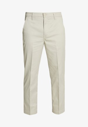 XX CHINO STR CROP II - Chino kalhoty - sandhill poly twill press