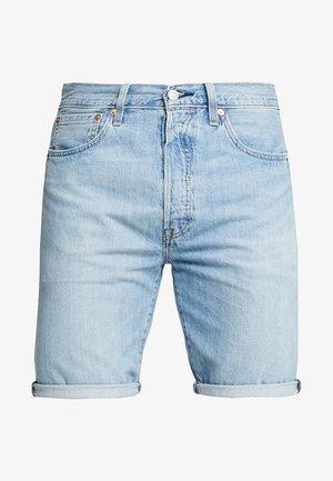501® HEMMED SHORT - Džínové kraťasy - blue