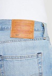 Levi's® - 501® HEMMED SHORT - Jeans Short / cowboy shorts - blue - 4