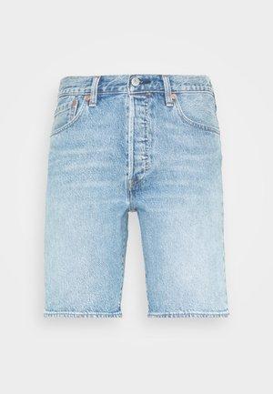 501® HEMMED SHORT - Szorty jeansowe - island stream