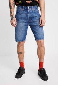 Levi's® - 501® HEMMED  - Shorts vaqueros - nashville - 0