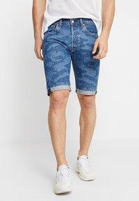 Levi's® - 501® ORIG CUTOFF SHORT - Denim shorts - blue denim - 0