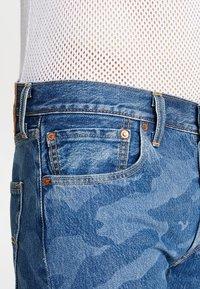 Levi's® - 501® ORIG CUTOFF SHORT - Denim shorts - blue denim - 3