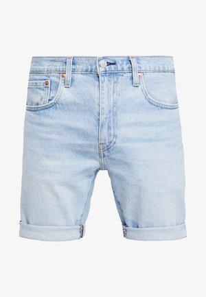 502™ TAPER HEMMED - Jeansshorts - light-blue denim