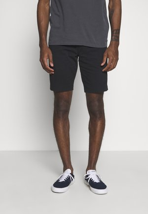 CHINO TAPER - Shortsit - mineral black