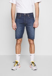 Levi's® - 501 ORIGINAL SHORTS - Szorty jeansowe - roast beef - 0