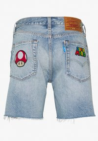 Levi's® - X SUPER MARIO 501® '93 SHORTS - Short en jean - blue denim - 1