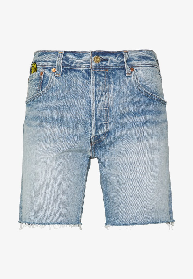 Levi's® - X SUPER MARIO 501® '93 SHORTS - Short en jean - blue denim