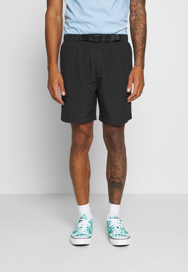LINED CLIMBER - Shorts - jet black