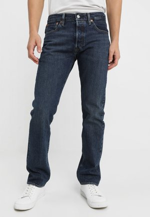 501 LEVIS ORIGINAL FIT - Jeansy Straight Leg - luther blue warp