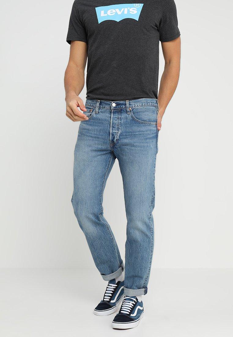 Levi's® - 501® ORIGINAL FIT - Straight leg jeans - pipe light