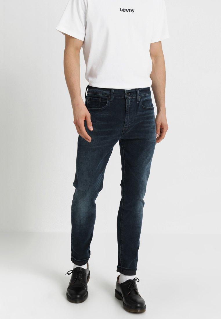 Levi's® - 512 SLIM TAPER FIT - Slim fit jeans - dark-blue denim