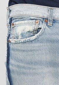 Levi's® - 501 ORIGINAL FIT - Straight leg jeans - inside out dx - 3