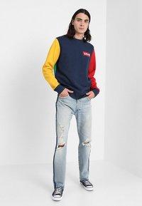 Levi's® - 501 ORIGINAL FIT - Straight leg jeans - inside out dx - 1