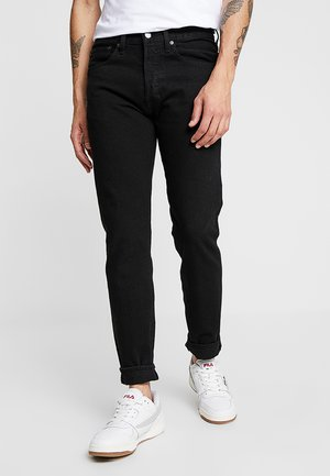 501® SLIM TAPER - Jeansy Slim Fit - black
