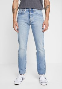 Levi's® - 501® SLIM TAPER - Slim fit jeans - revolution mid - 0